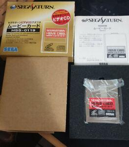 SEGA SATURN VCD PLAYER HSS-0119 2.0 VIDEO CD HITACHI