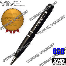Home Security Camera Pen Cam 1080P Vimel 8GB HD Video USB drive NO SPY Hidden