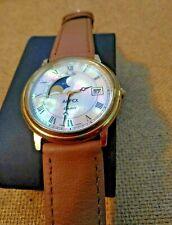 Vintage Alfex Moonphase Wrist Watch. Swiss. ETA 955.419. Quartz.