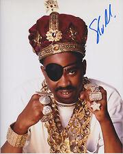 SLICK RICK Hip Hop Legend SIGNED 8X10 Photo B