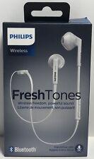 Philips FreshTones MyJam In-Ear Earphones Wireless Bluetooth SHS5250WT BNIB