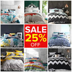 Logan and Mason Doona Duvet Quilt Cover Set Single Double Queen King Size NEW