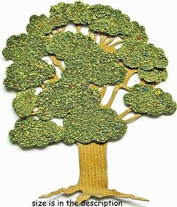 GREEN SUMMER TREE Jolee's Boutique 3-D Embellishment - Wood Forest Branches