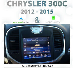 Chrysler 300C 2012 - 2015 UConnect Integrated CarPlay and Android auto
