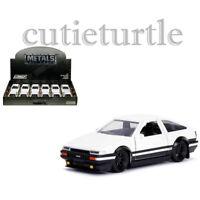 Jada Hollywood Rides Initial D 1986 Toyota Corolla Trueno AE86 1:32 30882-DP1