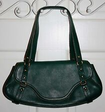Rare Cole Haan Green Leather Purse