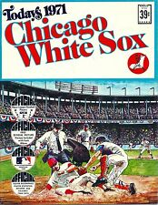 1971 Dell baseball stamps team set Chicago White Sox UNCUT sheets