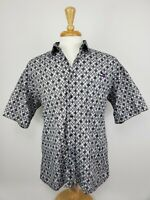 Vintage Tommy Hilfiger Short Sleeve Button Down Embroidered Logo & Stars