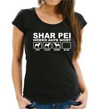WOMAN T-Shirt SHAR PEI HÖREN AUFS WORT by Siviwonder