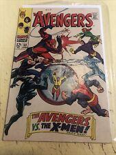Marvel 1968 the Avengers #53 June X Men Hot Key CGC It Dc Black Panther Cyclops