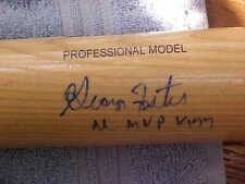 BIG STICK George Foster REDS Autographed Baseball Bat NL MVP 1977 Online COA!!