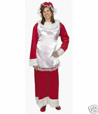 Mrs Santa Claus Dress Costume Adult Woman Clause NEW Christmas Holiday Outfit