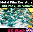 Resistors Metal Film 300 Pack, 10 each 30 values 1/4w 1% Kit/Assortment/Mix -UK