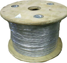 "1000'  3/32"" x 7 Strand Steel Guy Wire / Cable - 13 Gauge - Masts Antennas"