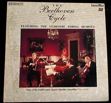 The BEETHOVEN CYCLE / Featuring the GUARNERI STING QUARTET / Elegant Chamber Mus