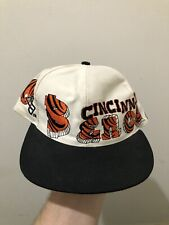Vintage Cincinatti Bengals Drew Pearson Graffiti Youth Snapback Hat Cap NFL Kids