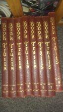 Book Trails Set of 8 High Adventure Baby Steps Wildwood Vintage 1928/1946