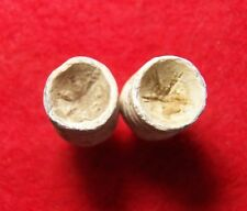 2 Excavated Civil War .58 Cal. Swaged Bullets