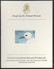 Tuvalu (1404) - 1988 BIRDS 10c imperf on Format International PROOF  CARD