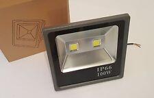 100w LED Floodlight Cool White Black IP66 £49.95 Each! High Quality UK Stock