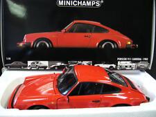 PORSCHE 911 Carrera Coupe 1983 red rot G Mo Minichamps 100063021 MEGARAR ! 1:18