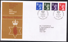 Northern Ireland New Definitive Values First Day Cover 23rd January 1974 ni14...