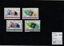 Rwanda postfris 1965 MNH 114-117 - ITU 100 Jaar