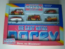 Rarität Norev Coffret Set Mini Jet Autos Spielmatte no Matchbox no Majorette