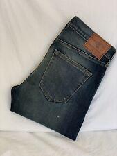Abercrombie & Fitch rendimiento Orillo tramo Recto Jeans 28x30 (AC1576) NUEVO