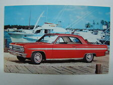 1963 Oldsmobile Jetfire Photograph Postcard C K Sanders Auto Sales Turlock CA