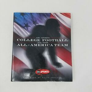 ABC Sports College Football all Time All-America Team Book Color Photographs HC