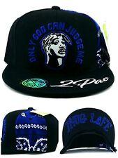 Tupac 2pac Only God Can Judge Me New Thug Life Black Blue Era Snapback Hat Cap