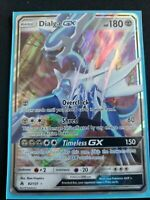 Pokemon Dialga GX~ 82/131~Ultra Rare S&M Forbidden Light~mint never played