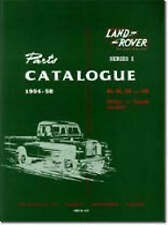 Land Rover Series 1 Parts Catalogues 1954-58 by Brooklands Books Ltd (Paperback, 1991)