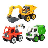 Montage Spielzeugauto Baufahrzeuge AutoLKW Intelligenz Spielzeug für Kinder