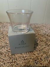PartyLight Clear Fluted Votive Candle Holder