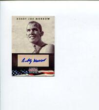 Bobby Joe Morrow Olympic Gold Track Signed Autograph 2012 Panini Americana