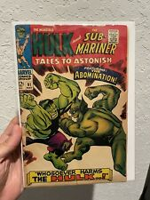 Tales To Astonish #91 (May 1967, Marvel) - 2nd App and 1st Cover of Abomination
