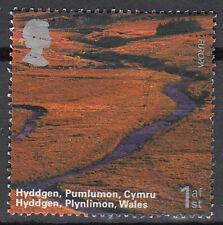 Großbritannien England gestempelt Hyddgen Plynlimon Wales Landschaft / 243