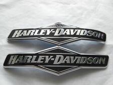 Harley Davidson skull tankschilder tankembleme réservoir emblèmes 62299-06 & 62300-06