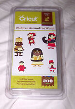 Cricut Lite CHILDREN AROUND of THE WORLD Die Cut Cartridge NEW Country Kids