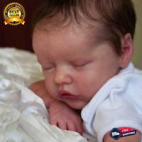 Bebe Reborn Kit 17 Inch Reborn Baby Vinyl Kit Unpainted Unfinished DIY Doll part