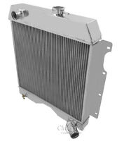 1954 1955 1956 1957 1958 1959 1960 1961 -64 Willys Truck/Wagon 3 Row DR Radiator