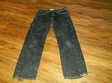 Boy's Student Levi's 550 Relaxed Fit Blue Denim Jeans Sz 18 Regular 29 x 29 18R
