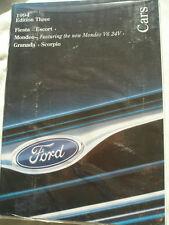 Ford range brochure 1994 Ed 3 Fiesta, Escort, Mondeo, Granada, Scorpio