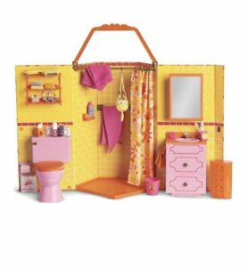 American Girl Julie's Groovy Bathroom Set New In Box