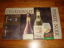 Anti Fatigue Memory PVC Foam Kitchen Mat Rug 18x30 WINE Pinot VINTAGE Chardonnay