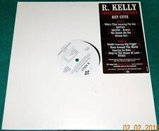 R. KELLY, Chocolate Factory -- Key Cuts, WHITE LABEL PROMO LP, JDAB-40087-1