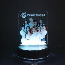 Kpop TWICE 7 Colors LED Night Light Table Momo Sana Mina Desk Lamp Home Decor