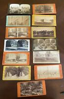 Antique Stereoview Cards New York State, Lot of 13